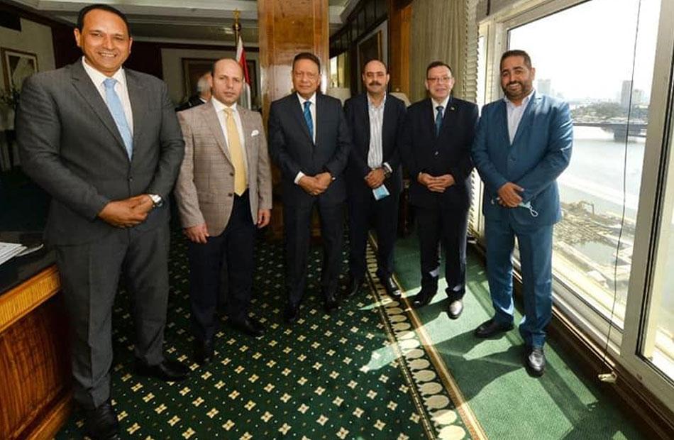 كرم جبر العلاقات  المصرية ـ الأردنية  تشهد أفضل فتراتها والأمن القومي يمثل المحور الرئيسي بها|صور