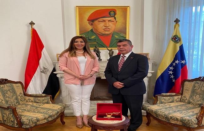 ;جسور; عن العلاقات بين مصر وفينزويلا على القناة الثانية