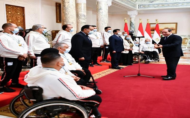 محمد صبحي بطل رفع الأثقال اهتمام الرئيس السيسي يعطى دفعة كبيرة لتحقيق إنجاز أفضل
