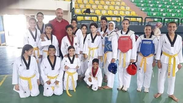 ;الشباب والرياضة; بالبحر الأحمر تنفذ المشروع القومي للموهبة والبطل الأولمبي للتايكوندو   صور
