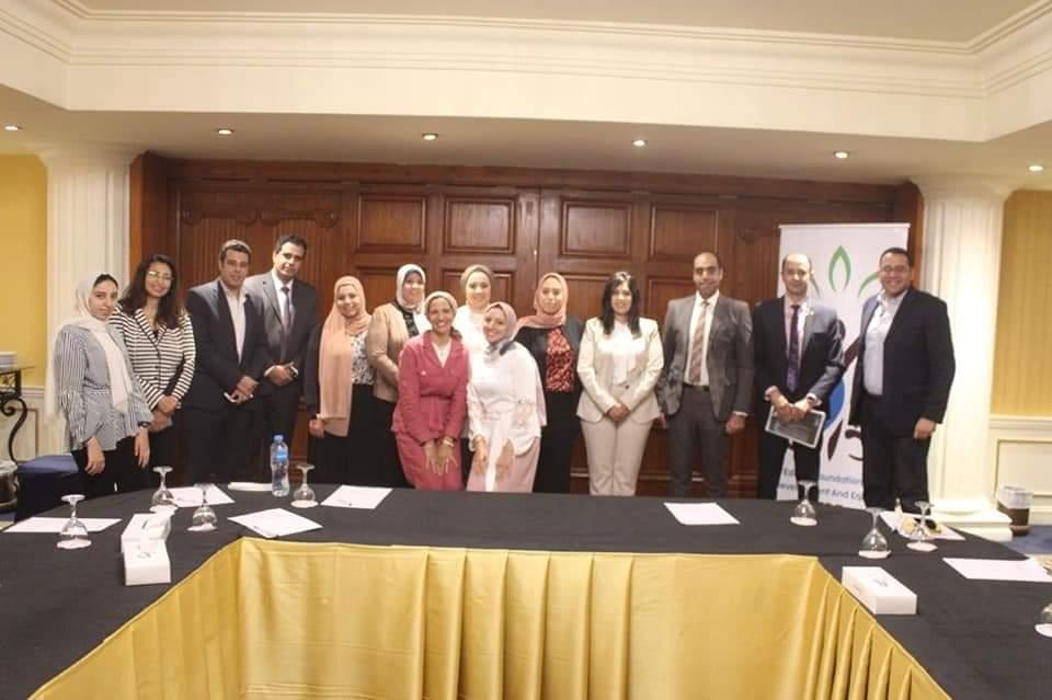 النائبة سها سعيد مساعي الدولة المصرية في تحسين أوضاع المرأة صادقة  صور