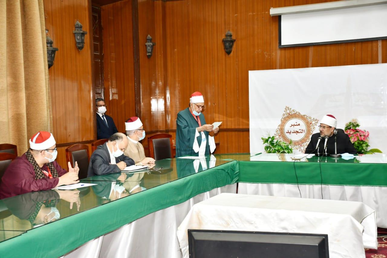 اجتماع مجلس إدارة نقابة قراء القرآن الكريم