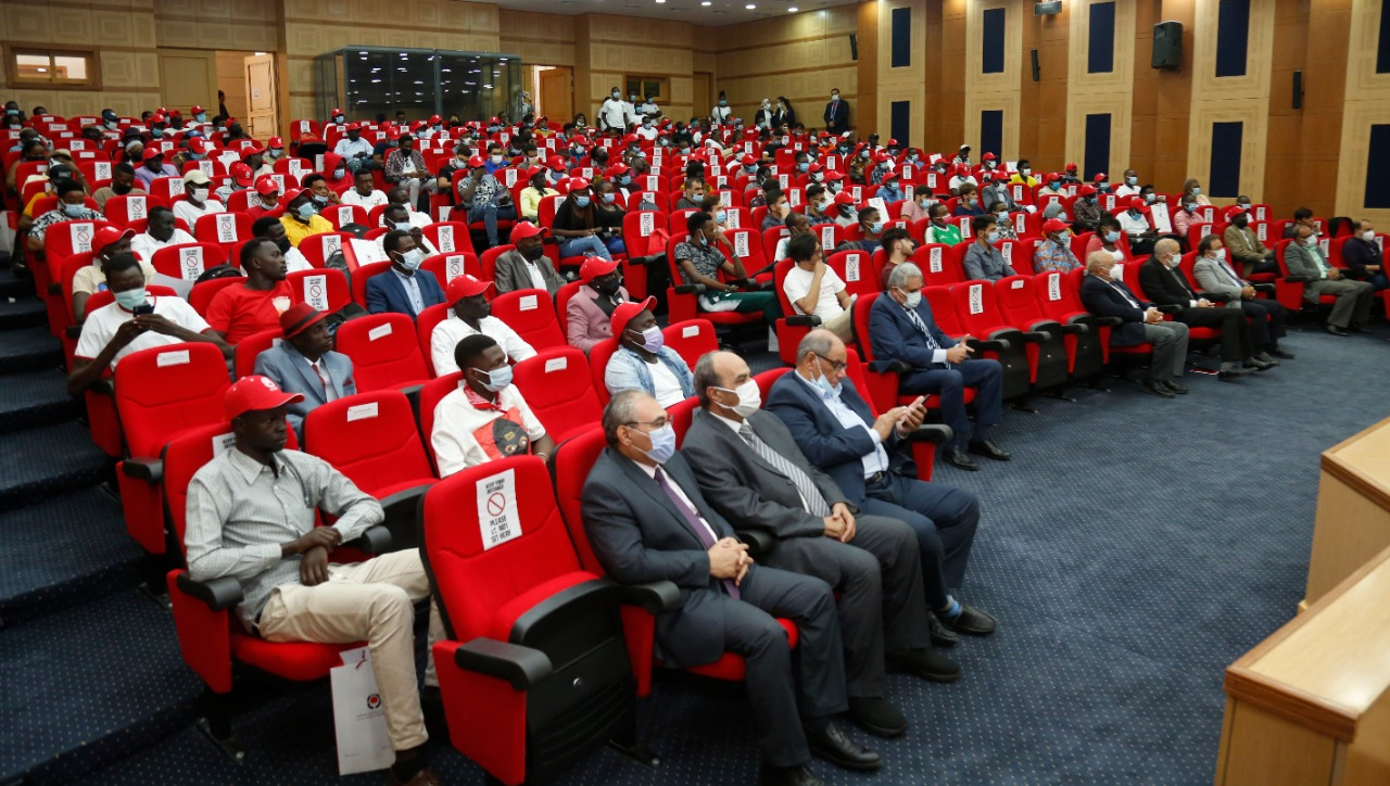 جانب من الملتقى الدولي للطلاب الأفارقة