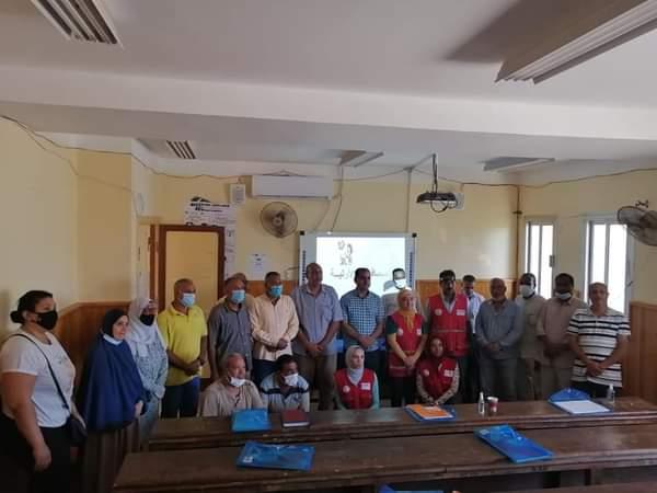 دورة تدريبية للمدرسين فى البحر الأحمر