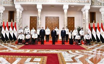 المتحدث-الرئاسي-ينشر-صور-تكريم-الرئيس-السيسي-لأبطال-دورة-الألعاب-البارالمبية-