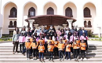 البابا-تواضروس-يلتقي-الطلاب-المتفوقين-من-اللاجئين-السودانيين-بالقاهرة- صور-