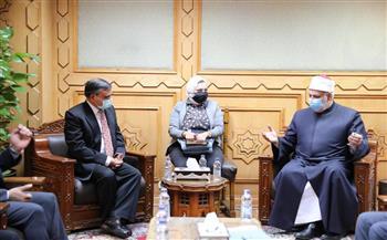 وكيل-الأزهر-يلتقي-سفير-بنجلاديش-بالقاهرة-لبحث-سبل-تعزيز-التعاون-في-مجال-التعليم- صور