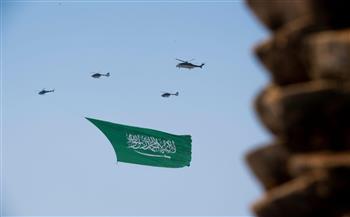 احتفالات-بالطائرات-وأخري-جماهيرية-بالعيد-الوطني-للسعودية