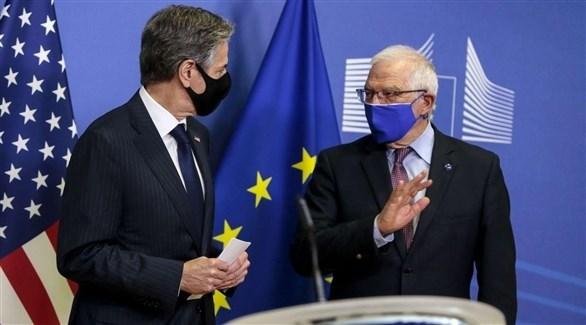 الممثل الأوروبي للشئون الخارجية يبحث مع وزير الخارجية الأمريكي الأعمال العابرة للأطلسي