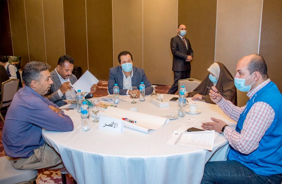 القوى العاملة ورشة عمل لتطوير الخطة التدريبية في صعيد مصر   صور