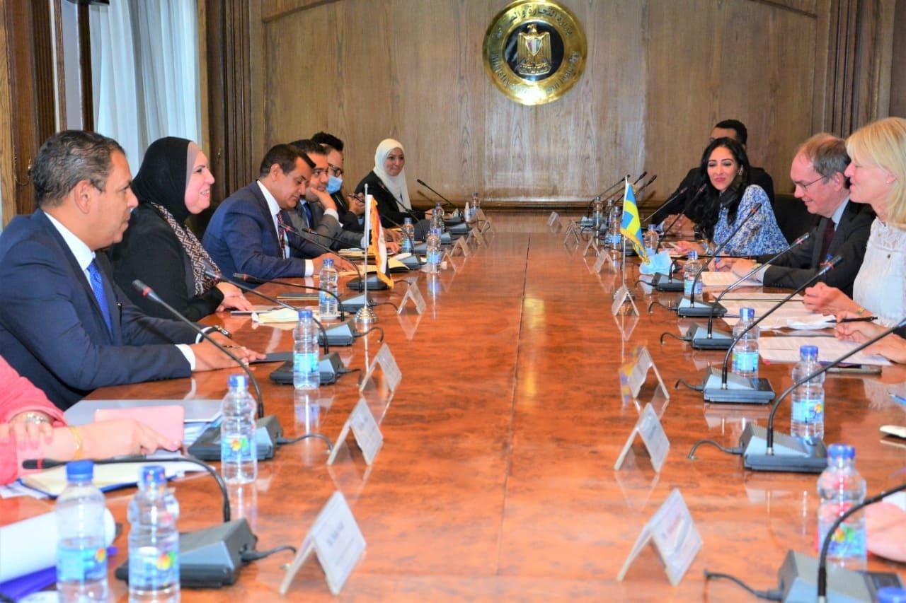 دراسة تشكيل أول مجلس أعمال  مصري  سويدي