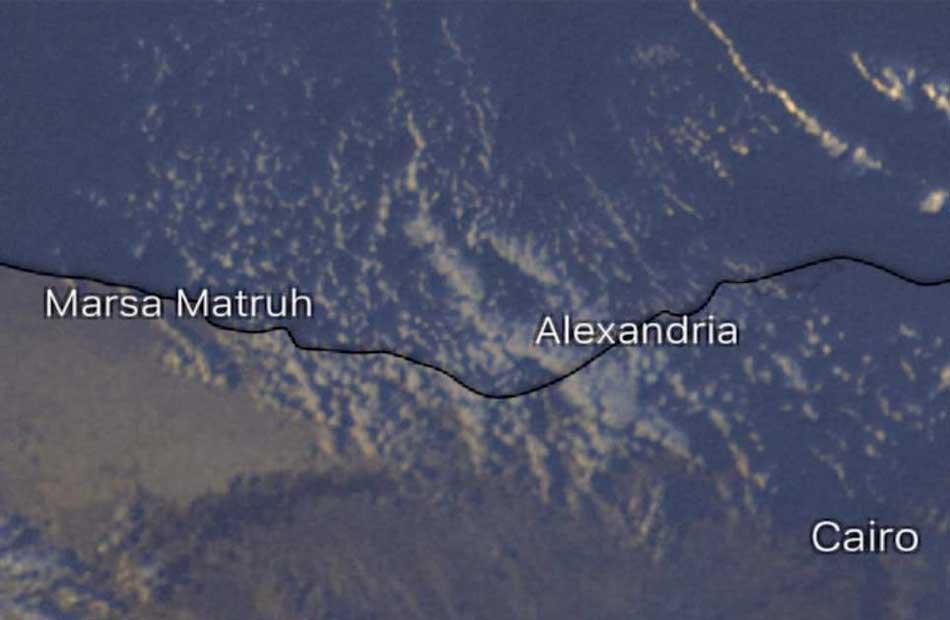 الأرصاد أمطار على الإسكندرية والساحل الغربي خلال ساعات |صور