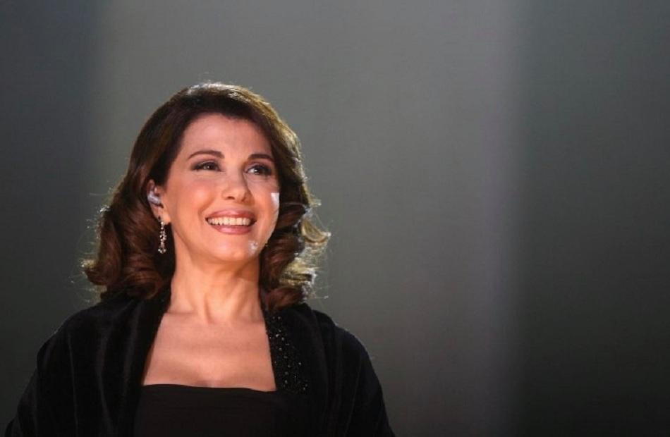 ماجدة الرومي لـ ;بوابة الأهرام; الوقت الحالي لـ الأفعال لا الأغاني الوطنية