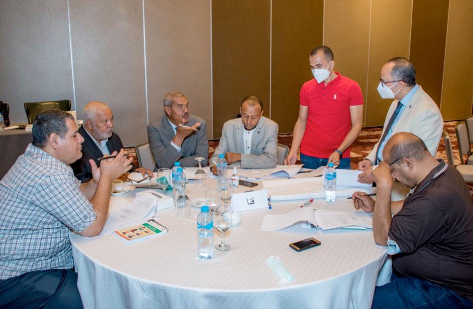 ورشة عمل لتطوير الخطة التدريبية في صعيد مصر