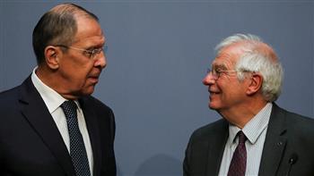 ;بوريل;-يبحث-مع-;لافروف;-العلاقات-الأوروبية-الروسية-والقضايا-الدولية-الملحة