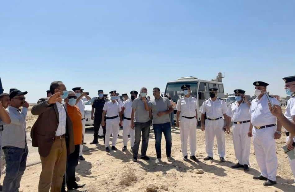 وزير الإسكان إزالة التعديات الواقعة على مساحة ٥٩ فدانًا شرق الفيوم الجديدة صور