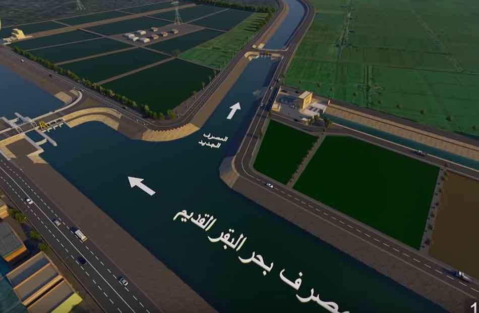 دخلت موسوعة  جينيس  مصر تفتتح أضخم محطة معالجة مياه في العالم