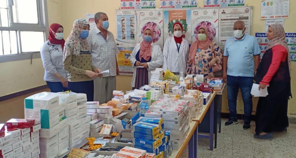 ;الداخلية; توفد قافلة طبية ولجنة حقوقية للتأكد من سير الخدمات المقدمة للمواطنين ببني سويف