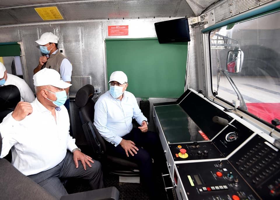 رئيس الوزراء القطار الكهربائي الخفيف سيكون جاهزًا مع افتتاح العاصمة الإدارية