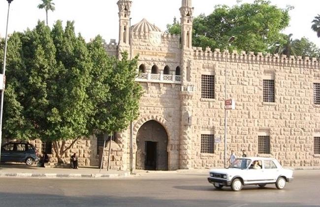 قطعة نسيج من كسوة قبر الرسول قطعة شهر سبتمبر بمتحف قصر محمد علي