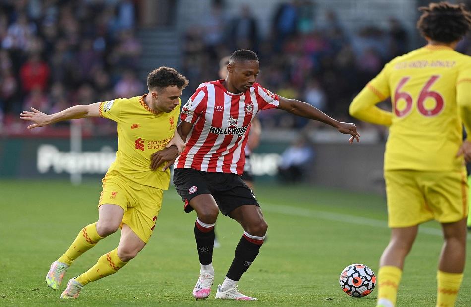 ليفربول يسجل هدف التعادل أمام برينتفورد بالدوري الإنجليزي
