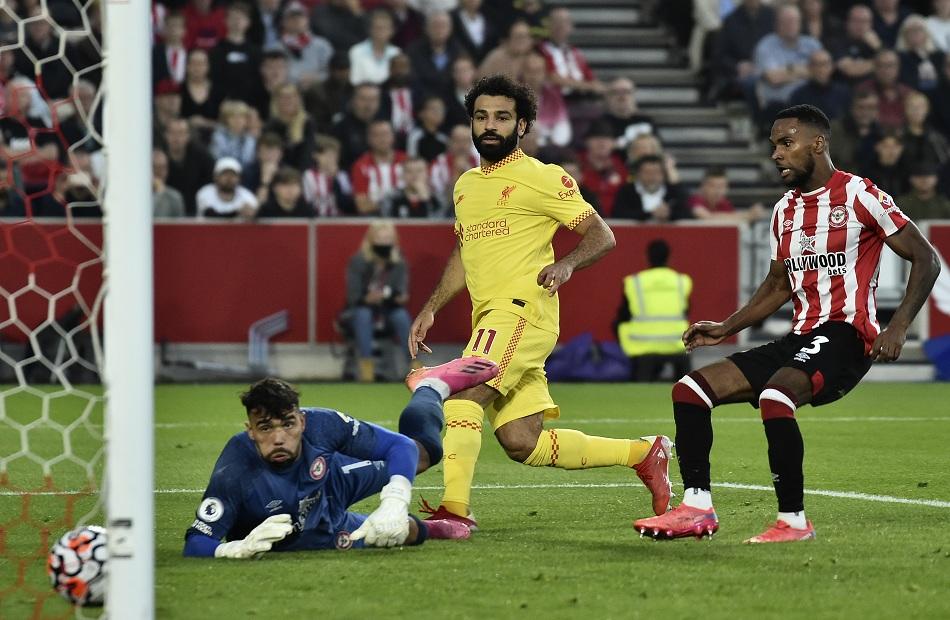 رقم تاريخي  هدف لمحمد صلاح بقميص ليفربول بالدوري الإنجليزي