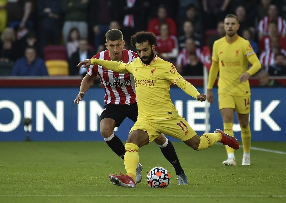 رقم تاريخي لمحمد صلاح ليفربول يتعثر أمام برينتفورد بتعادل مثير في الدوري الإنجليزي   صور