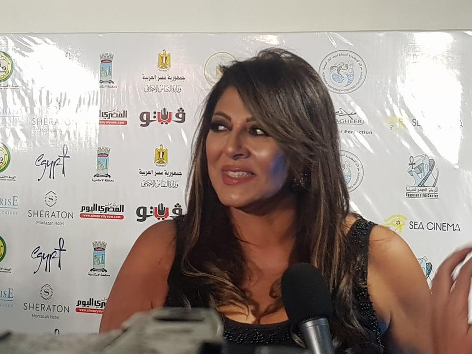 الفنانة هالة صدقي تشارك في افتتاح  مهرجان الإسكندرية السينمائي  | صور