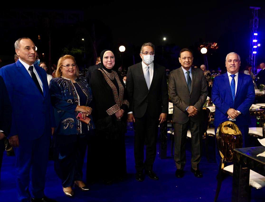وزير السياحة والآثار يشارك في افتتاح المهرجان الثقافي الدولي  جوتيه   صور