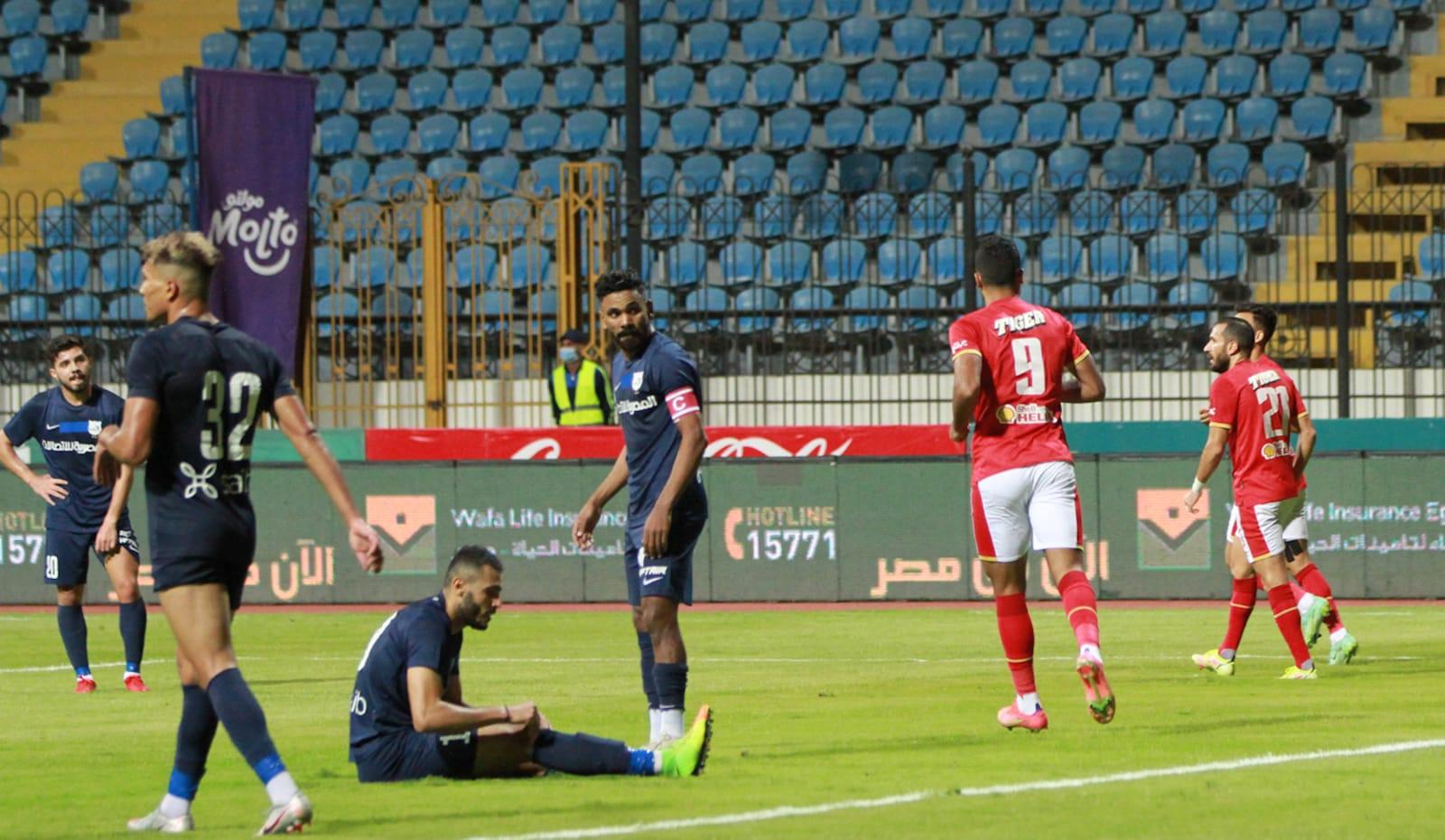 الأهلي يتخطى عقبة إنبي ويواجه بيراميدز في ربع نهائي كأس مصر