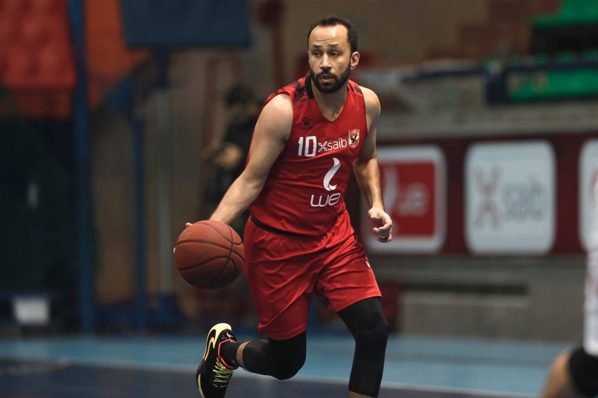 أخبار الأهلي قائد فريق السلة قدمنا مباريات قوية وجاهزون للبطولة العربية