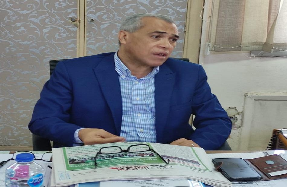 عصام إبراهيم المدير التنفيذى لصندوق التأمين على الثروة الحيوانية