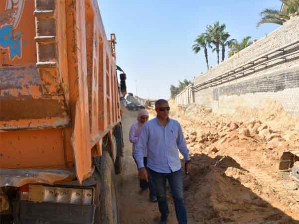 رئيس جهاز القاهرة الجديدة يتابع استعدادات موسم الشتاء