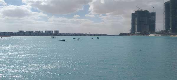 فعاليات بطولة الجمهورية المفتوحة للتجديف بمنطقة البحيرات