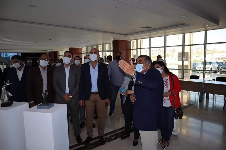 زيارة أعضاء مجلس الشيوخ عن التنسيقية لجامعة الجلالة