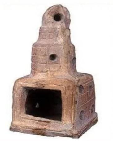 مسرجة  من الفخار ترجع إلى القرن الثاني قبل الميلاد