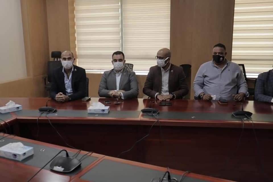 أعضاء مجلس الشيوخ عن التنسيقية في جامعة الحلال