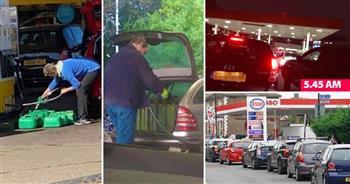 خوفًا-من-نقص-الوقود-سائقون-في-بريطانيا-يستولون-على-حصص-البنزين- -صور