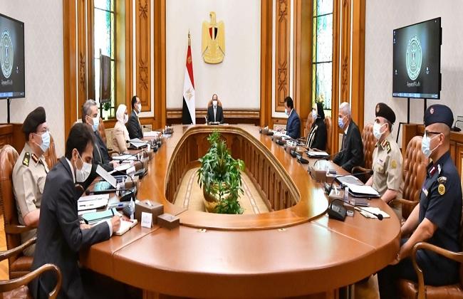 ;منظومة التطعيمات وصناعة الدواء في مصر; على مائدة الرئيس السيسي