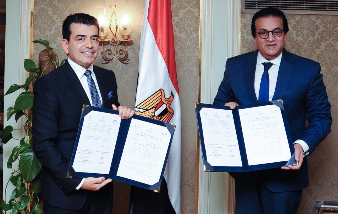 توقيع اتفاق استضافة مصر المجلس التنفيذي والمؤتمر العام لمنظمة الإيسيسكو| صور