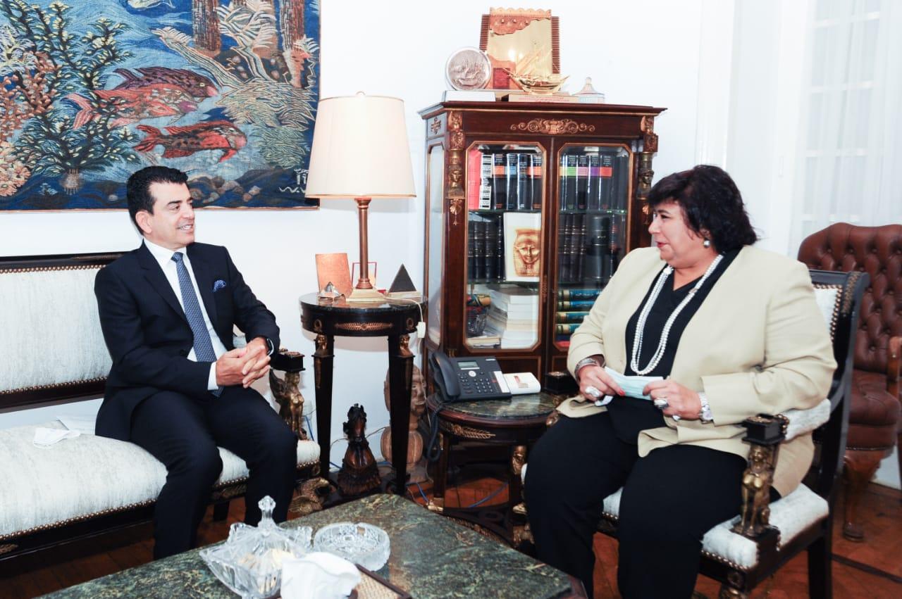 الاتفاق على تطوير التعاون بين الإيسيسكو ووزارة الثقافة المصرية| صور