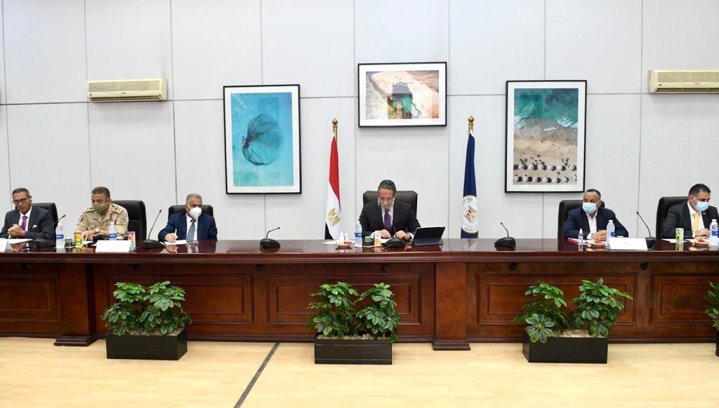 وزير السياحة والآُثار يترأس  اجتماع مجلس إدارة هيئة المتحف المصري الكبير| صور