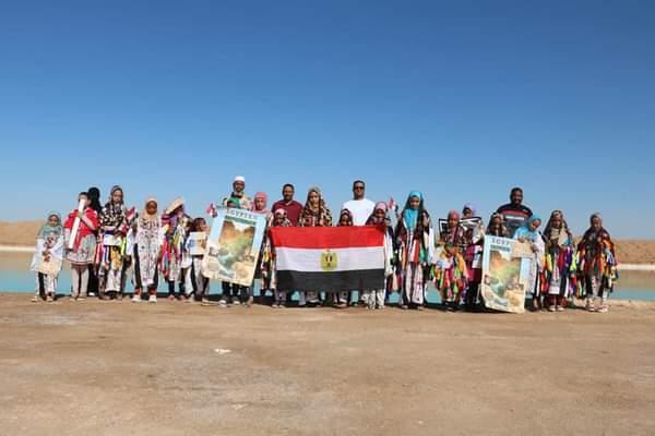 تنظيم رحلة لـ  طفلا إلى معالم سيوة احتفالا باليوم العالمي للسياحة  صور