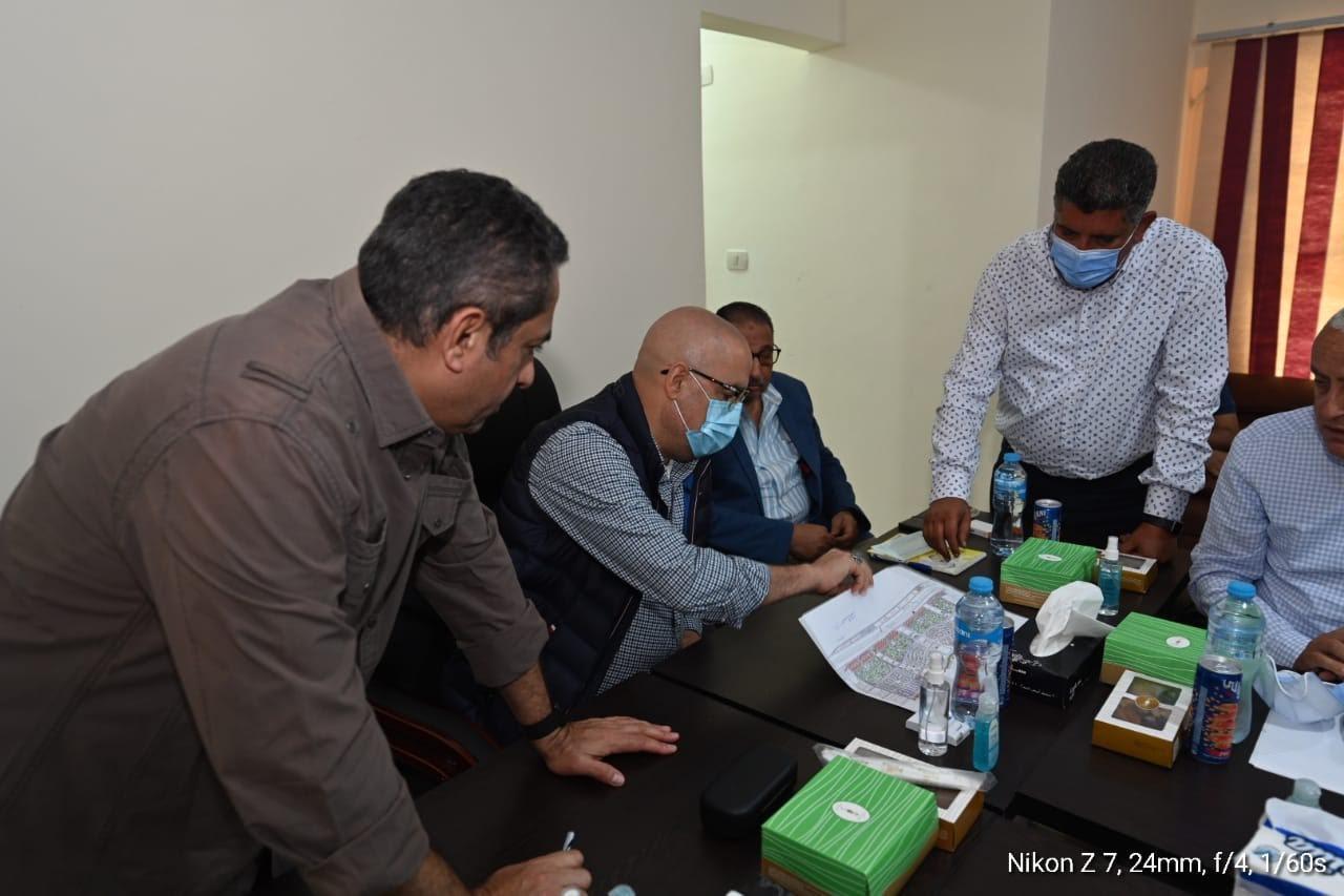 جان من اجتماع الدكتور عاصم الجزار وزير الإسكان والمرافق والمجتمعات العمرانية