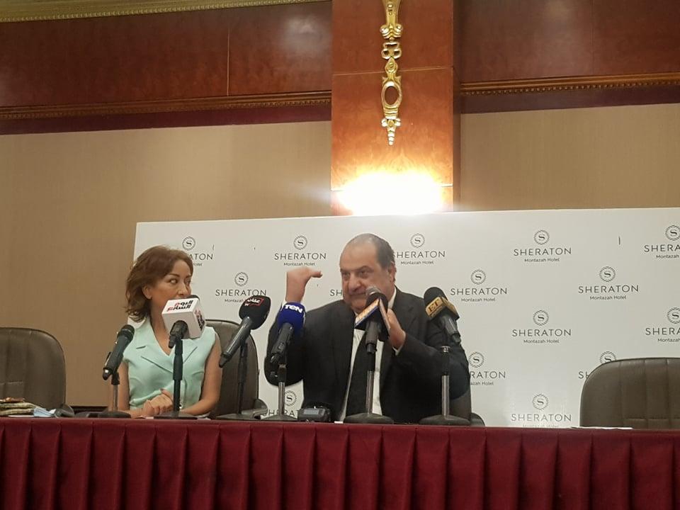 خالد الصاوي في ندوة مهرجان اسكندرية