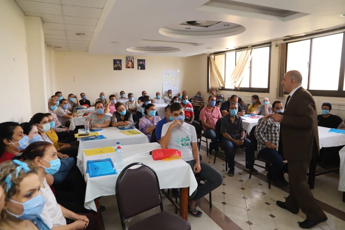 برنامج تدريبي للتوعية بالسلامة والصحة المهنية بالتعاون مع الكنيسة القبطية الارثوذكسية