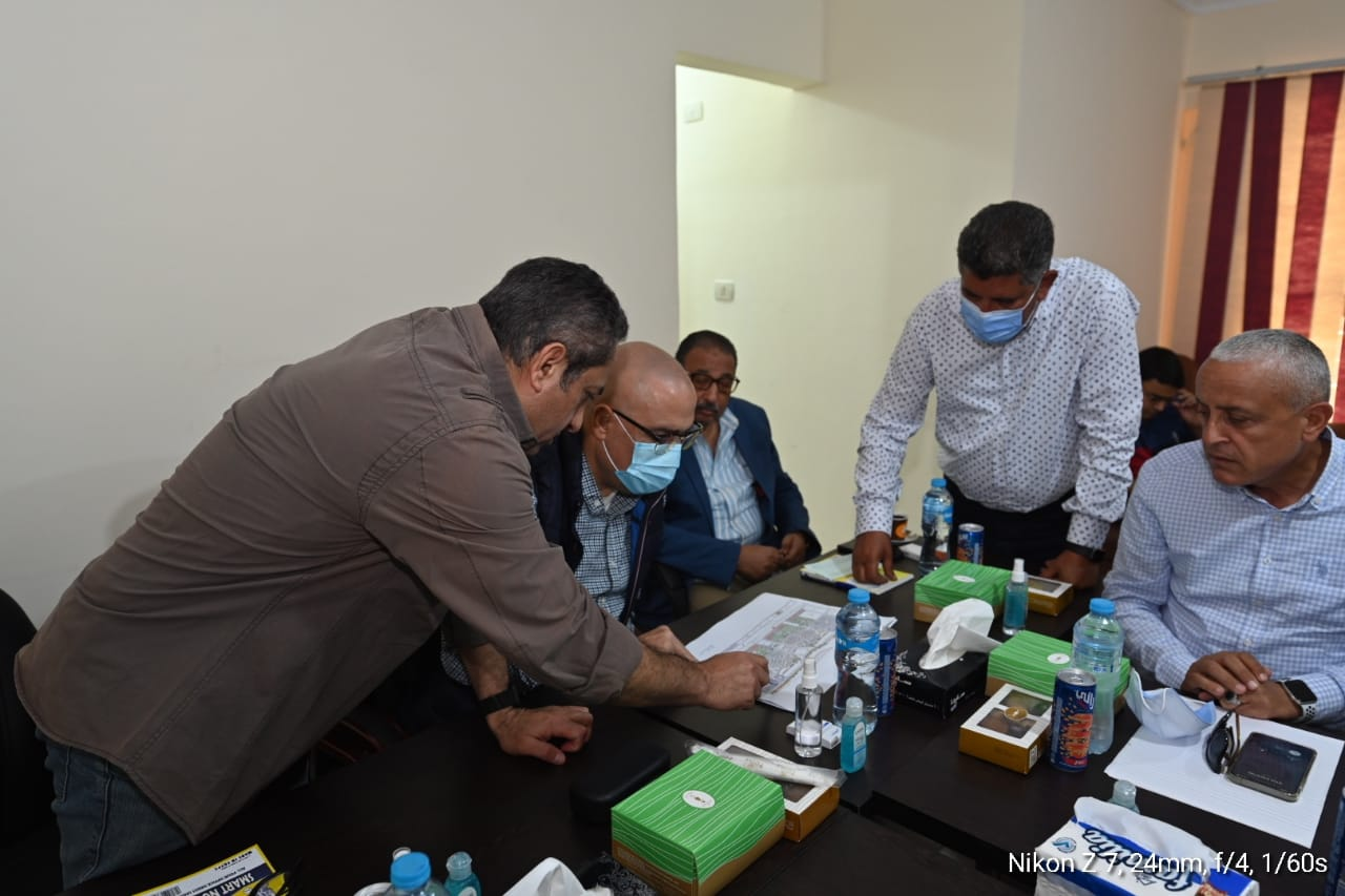 الدكتور عاصم الجزار فى مدينة المنصورة الجديدة