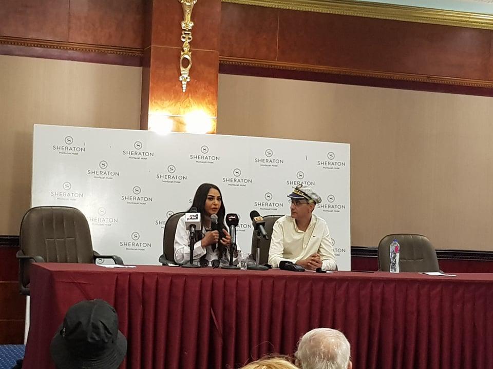 سلوى خطاب في مهرجان الاسكندرية السينمائي