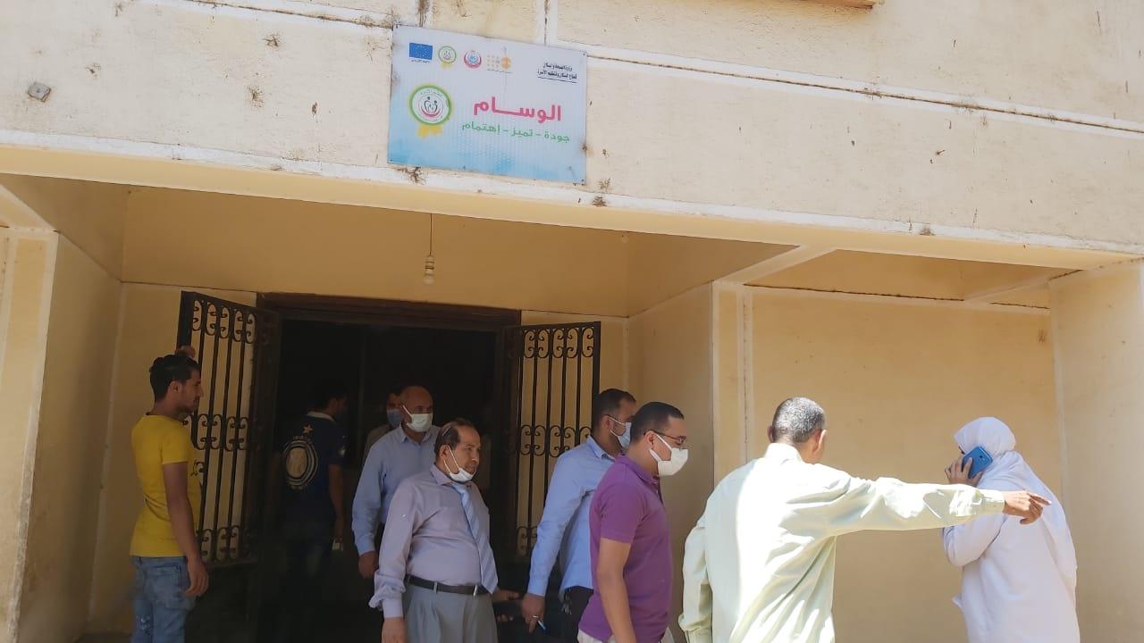 لجنة شؤون القرى ببني سويف