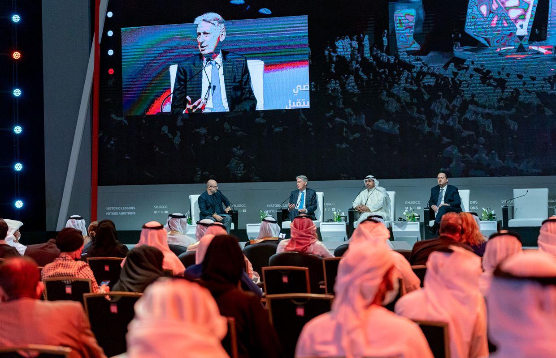 الجلسة الافتتاحية والحوار الملهم الأول للمنتدى الدولي للاتصال الحكومي